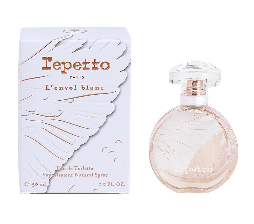 repetto eau de parfum l envol blanc 50ml プロダクト パフューム repetto レペット 日本公式オンラインストア